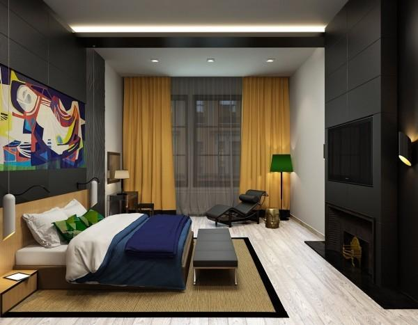 colorful-modern-bedroom