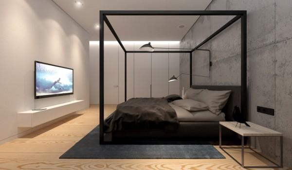 floor-poster-bed