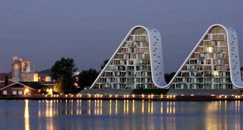 Жилой комплекс The Wave в Вайле, Германия