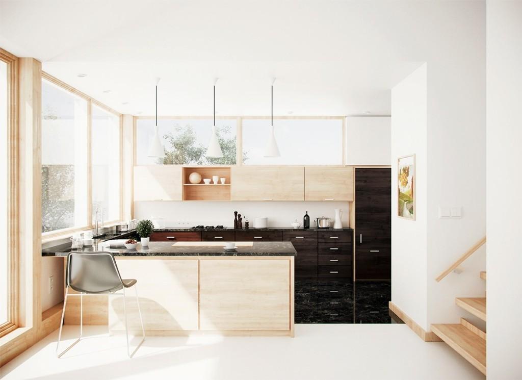 Солнечная кухня из дерева
