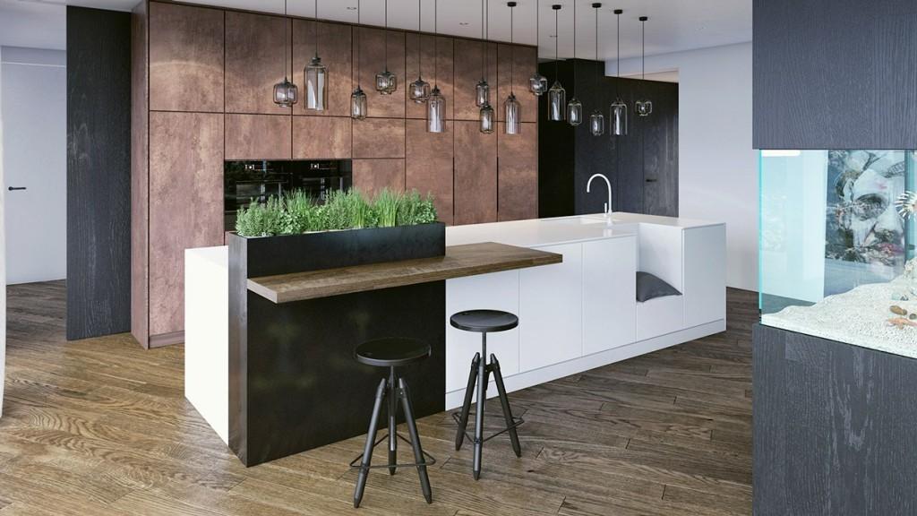 Кухня из массива дерева. Artyhomes.ru