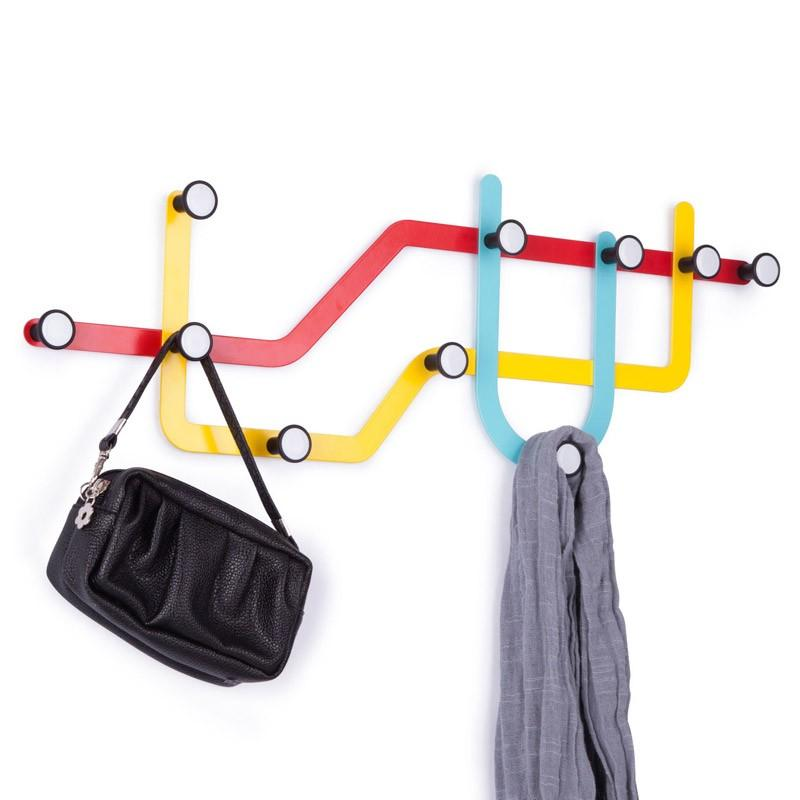 Вешалка для одежды Subway. Бернд: Umbra.