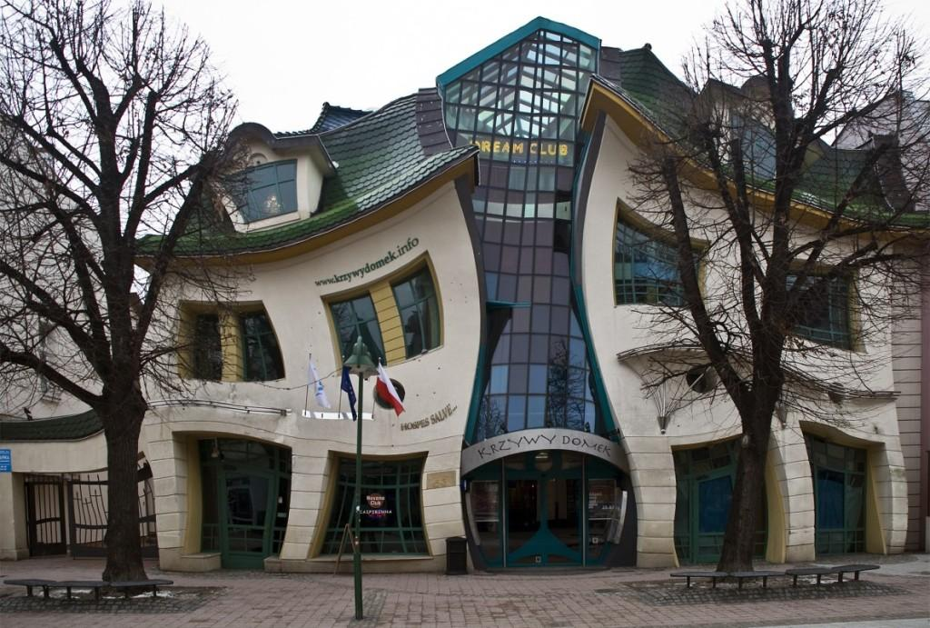 Кривой домик в Сопоте. Польша. Artyhomes.ru