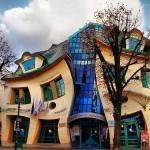 Кривой домик в Сопоте (Польша). Krzywy Domek