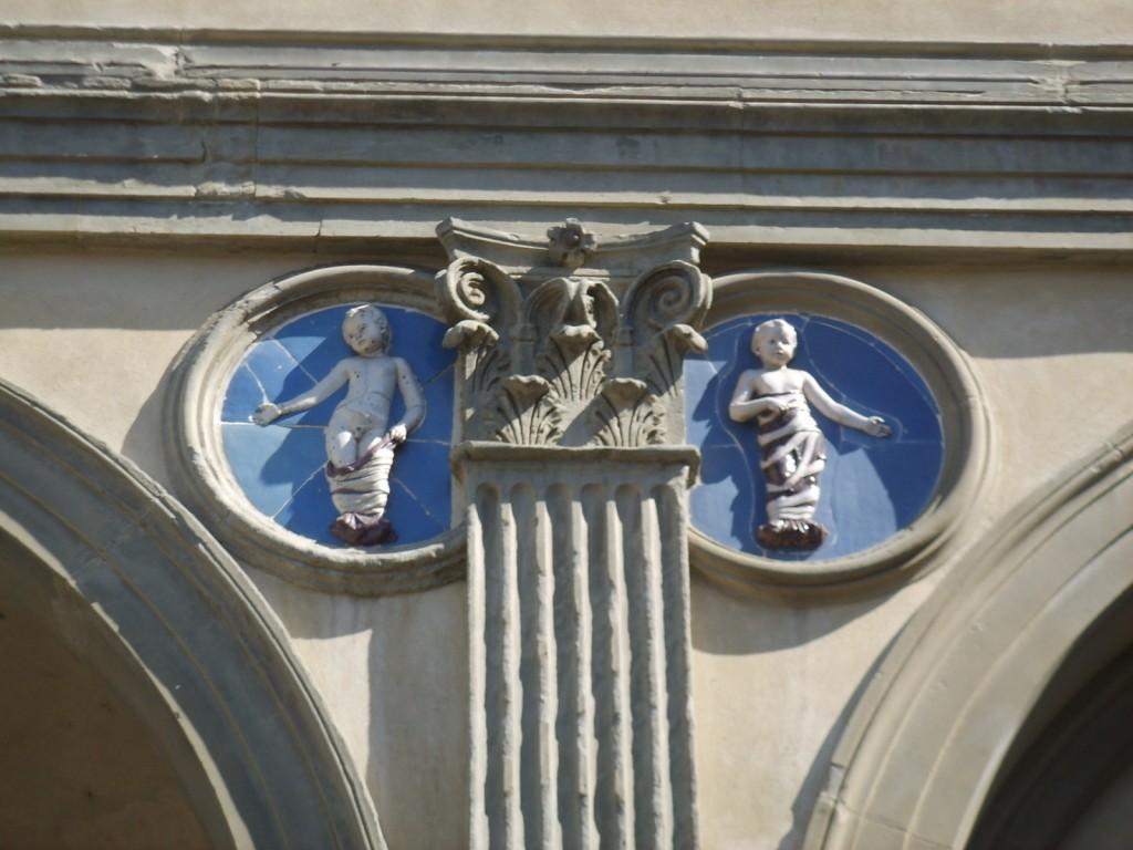 Ospedale degli Innocenti. Оспедале дельи Инноченти