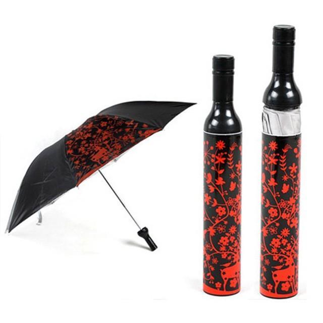 Стильный зонт-бутылка