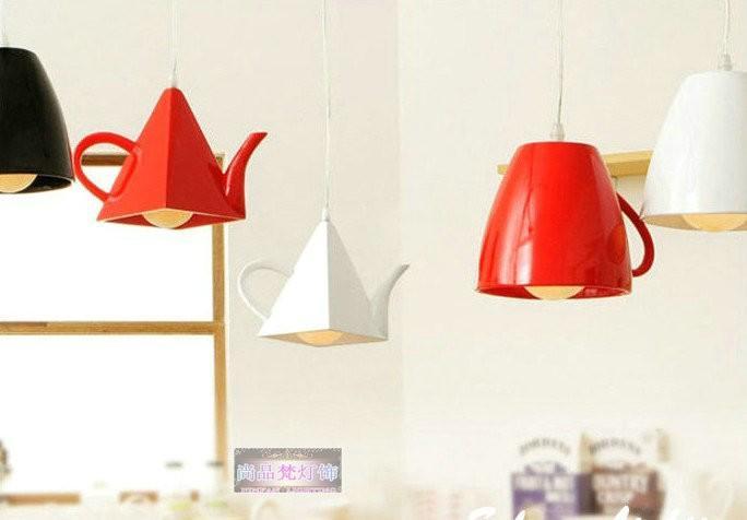 Креативный светильник на кухню для любителей чая