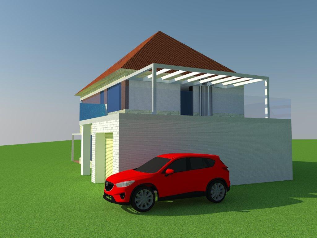 3D модель дома на заказ