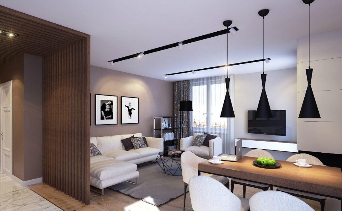 Готовые дизайн-проекты квартир: фото стили и планы