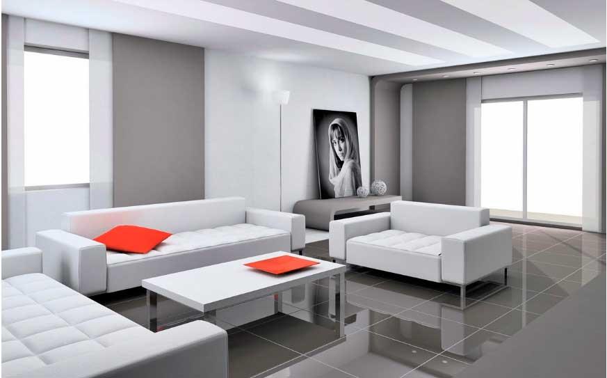 Классический вид «высокотехнологичной» комнаты.
