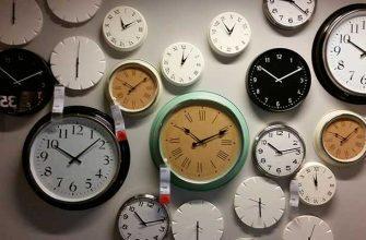 Настенные часы в интерьере