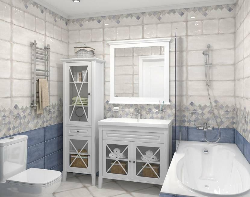 Провансу в ванной свойственная изысканная простота и деревенский шарм.