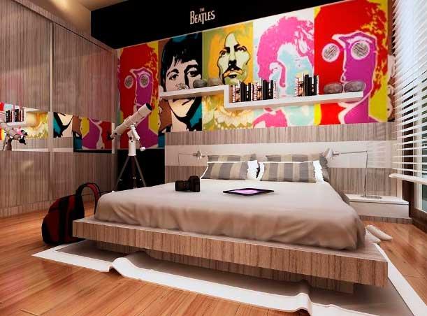 Кровать поп-арт