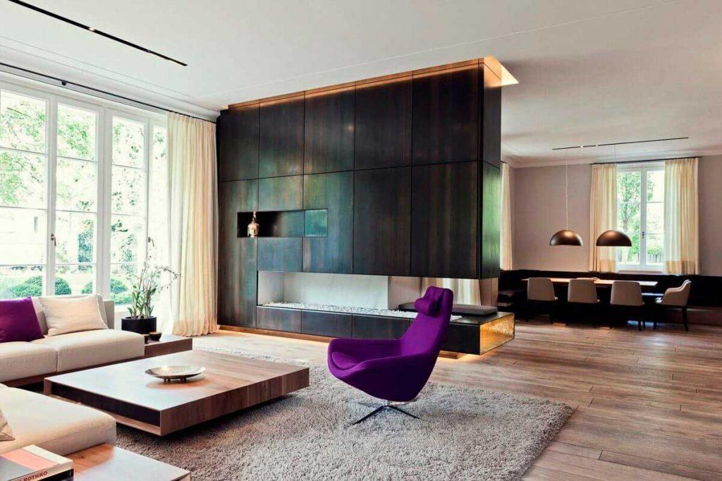 Мебель в интерьере «контемпорари»