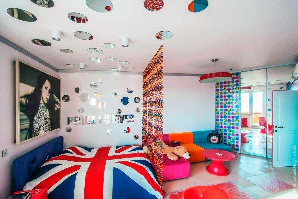 Потолок в стиле поп-арт