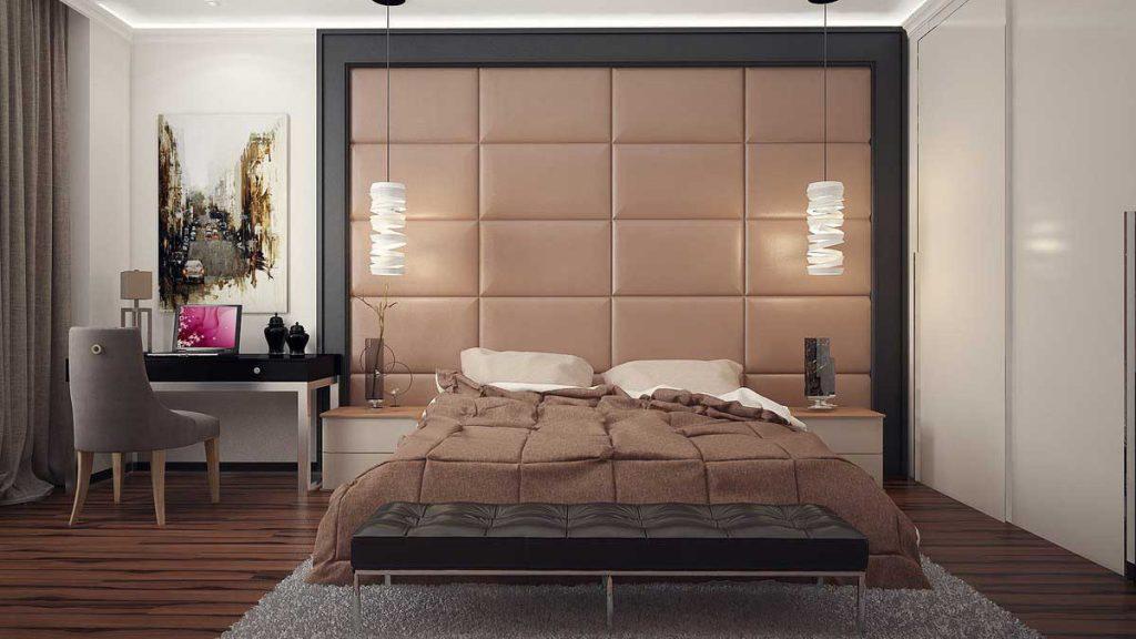 Спальня в стиле «контемпорари»