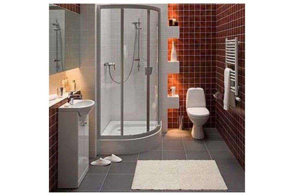 Интерьер ванной экономкласса