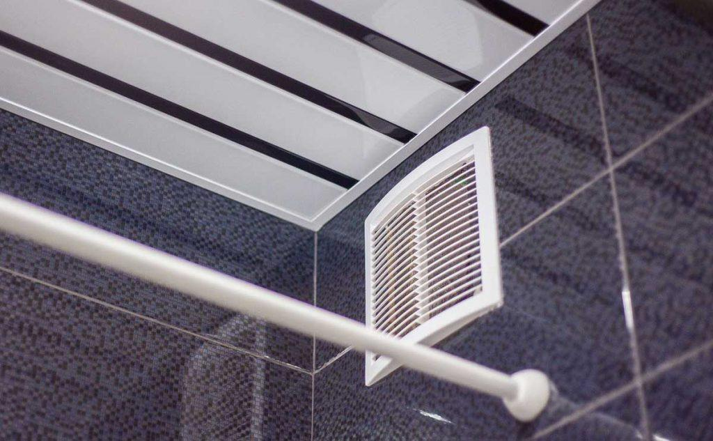 Вентиляция в ванную комнату