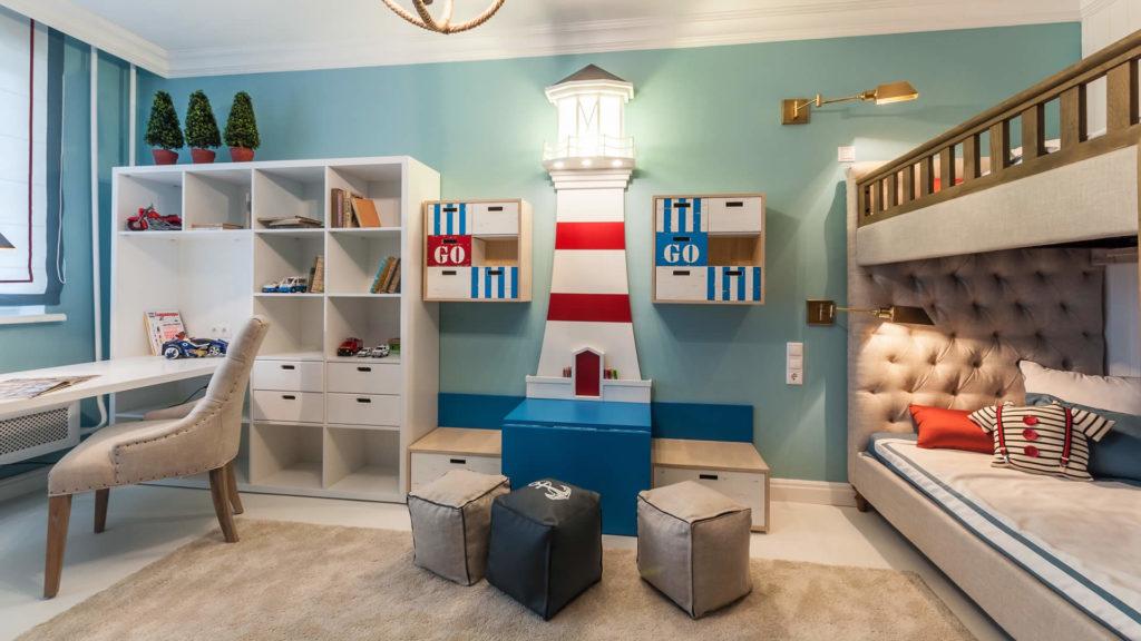 Детская комната для дошкольника