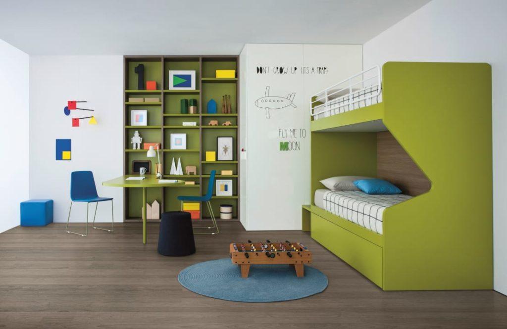 Минималистическая детская комната